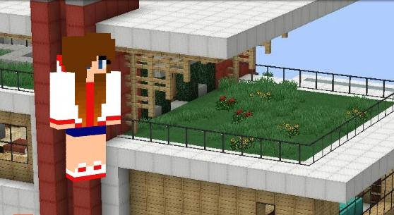 Скин девочка-YouTube для Minecraft