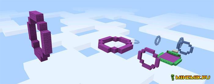Elytra Challenge для Minecraft PE 0.17.0