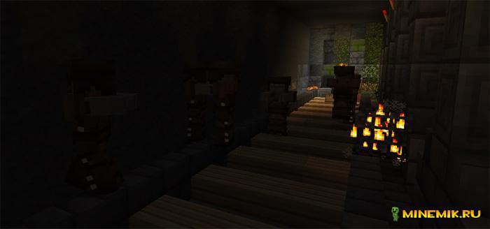 """Аддон """"Живые мертвецы"""" [Приключение] для Minecraft PE"""