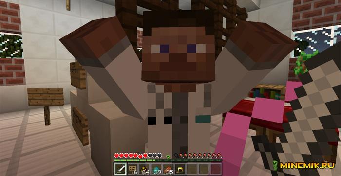 Аддон на врача для Minecraft PE