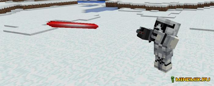 """Аддон на дроида BB-8 из """"Звёздных воинов"""" для Minecraft PE"""