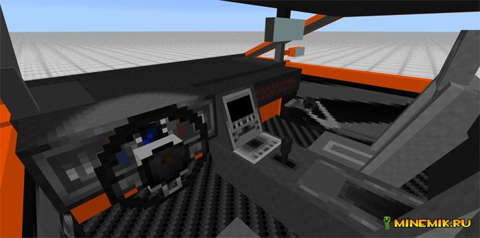 Аддон на ламборджини для Minecraft PE