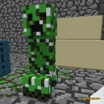 """Карта """"Монстр подземелья"""" для Minecraft PE"""
