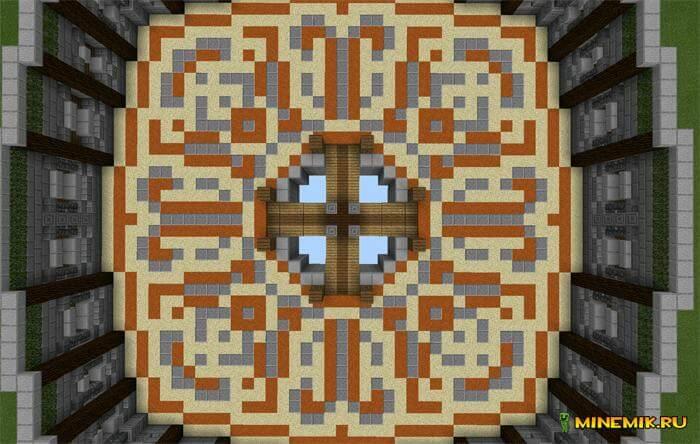 карта Mega PVP для Minecraft PE