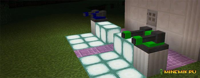 Аддон на защитные башни для Minecraft PE