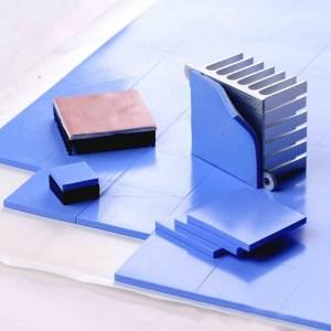 Силиконовые термопрокладки для processor, memory, chipset, keys, GPU 6,0 W/mK размер 100*100 мм