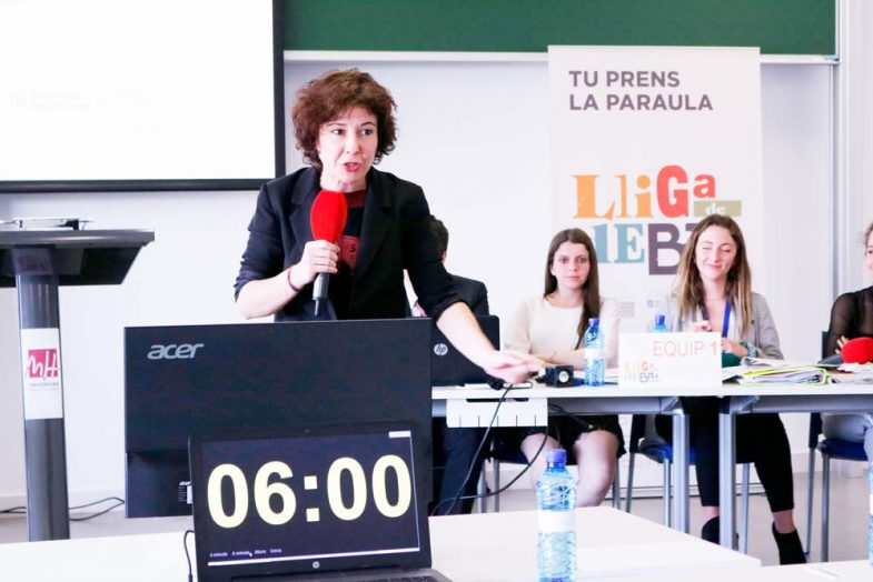 Roll-up Lliga de Debat