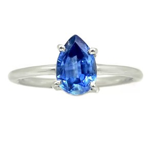 Kyanite Goutte Bague