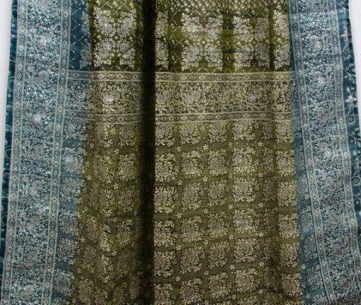 Green-Teal_IndianSari-Curtain-Closeup