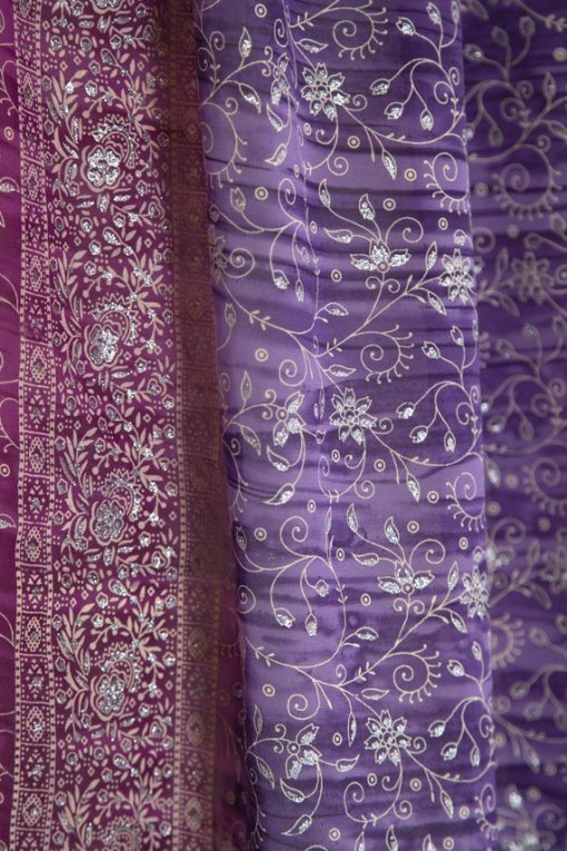 Purple_IndianSari-Curtain-Closeup