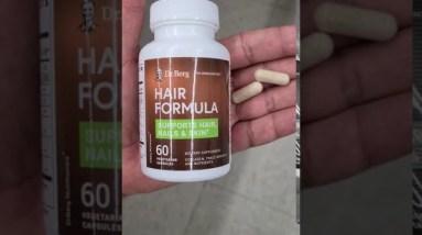 Dr. Berg Hair Formula - i just got 3 bottles - stick around for updates