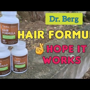 Dr. Berg Hair Formula - Real Buyer | first time use