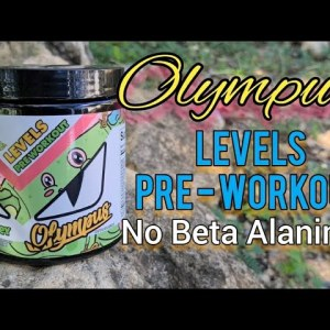 ☆Olympus Lifestyle☆ - LEVELS Pre-workout 💪- Checks every category