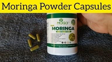 Mogo Moringa Leaf Powder Capsules: Really suggest using this