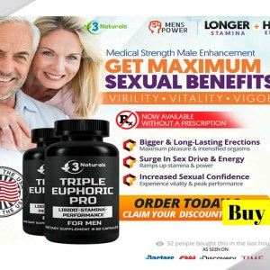 Triple Euphoric Pro *Warnings 2021* Scam Or Legit Male Enhancement Supplements! Does It Works?