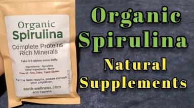 Organic Spirulina - get iodine and minerals the natural way