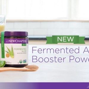 Aloe Pineapple Kombucha Smoothie with New Chapter® Fermented Aloe Booster Powder