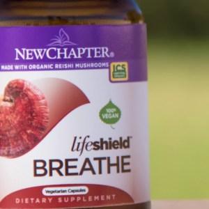 Immune Defense with New Chapter®—Potent Elderberry, Reishi Mushroom & Fermented Zinc