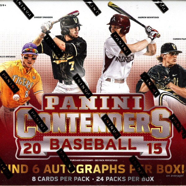 2015 Panini Contenders Baseball Hobby Box