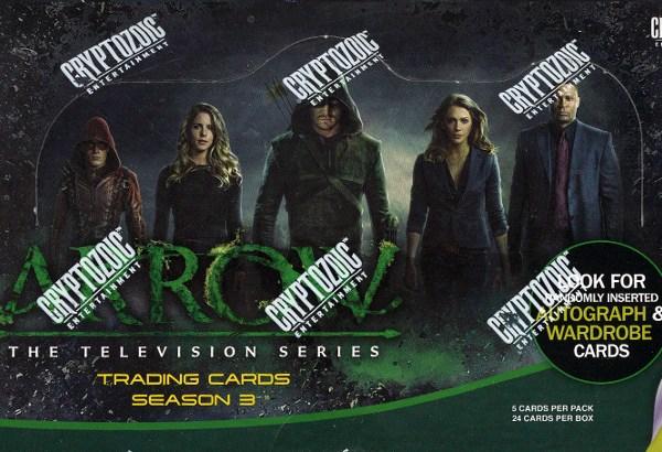 Cryptozoic Arrow Season 3 Hobby Box