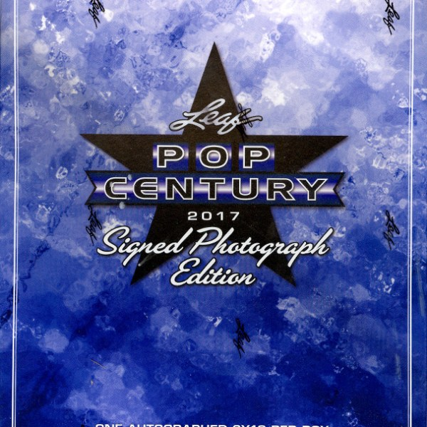2017 Leaf Pop Century Signed 8x10 Photograph Edition Box