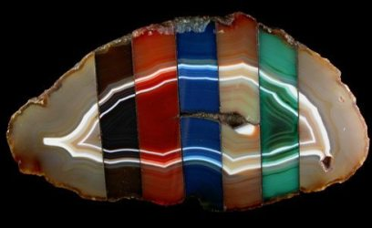 agate-dyed