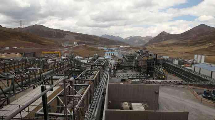 #4. MINERA CHINALCO PERÚ. A cargo del proyecto cuprífero Toromocho en Junín, la compañía ejecutó cerca de US$307 millones, un 25,6% menos respecto al 2014. (Foto: Alessandro Currarino)