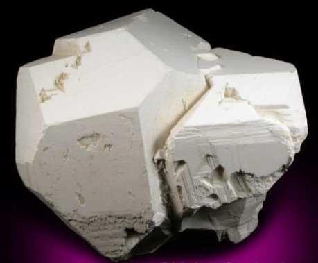 Cristales de Borax de Blocky Pseudomorfos
