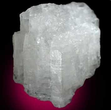 Cristales blancos de Criolita