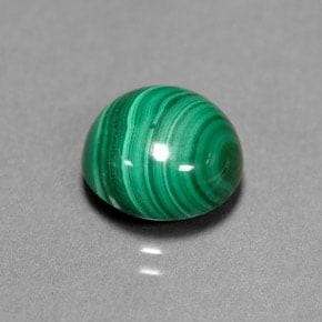 Malaquita verde congregada
