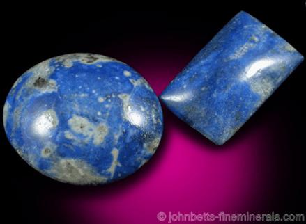 Sodalita azul brillante