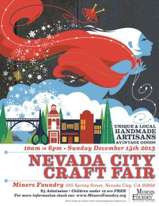 Winter Craft Fair poster