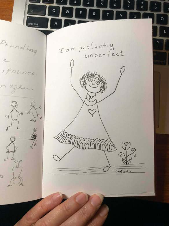 positive self-talk, 100 day project, self-love, loving kindness