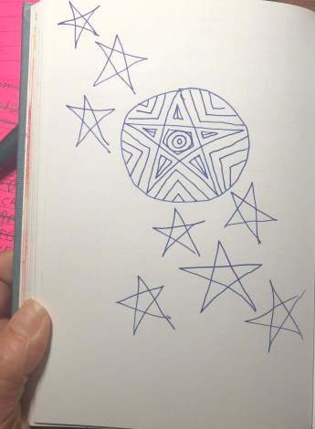 pentagram, patriarchy, witchcraft, 100 day project, symbolism, 100 days of symbols
