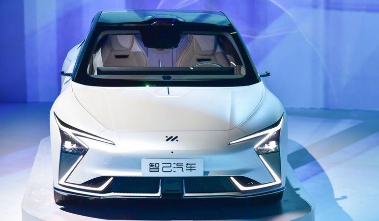 Компания Джека Ма представила собственный электромобиль ...