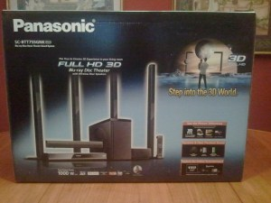 Panasonic SC-BTT755GNK Full HD 3D Blu-ray Disc Theatre with wireless rear speakers
