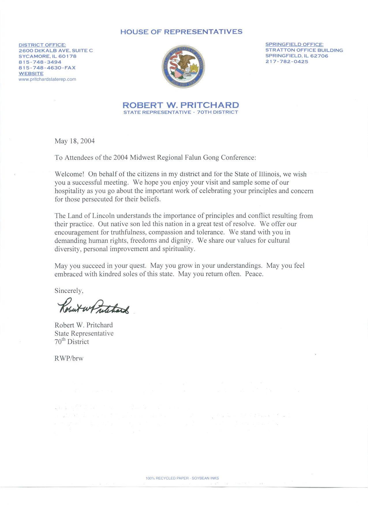 Write A Letter To A Congressman