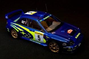 Subaru Impreza WRC 01 Monte Carlo