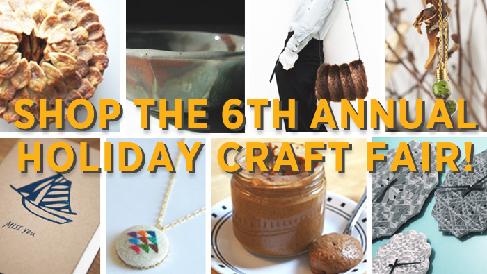 6th Annual 3rd Ward Handmade Holiday Craft Fair December 15th