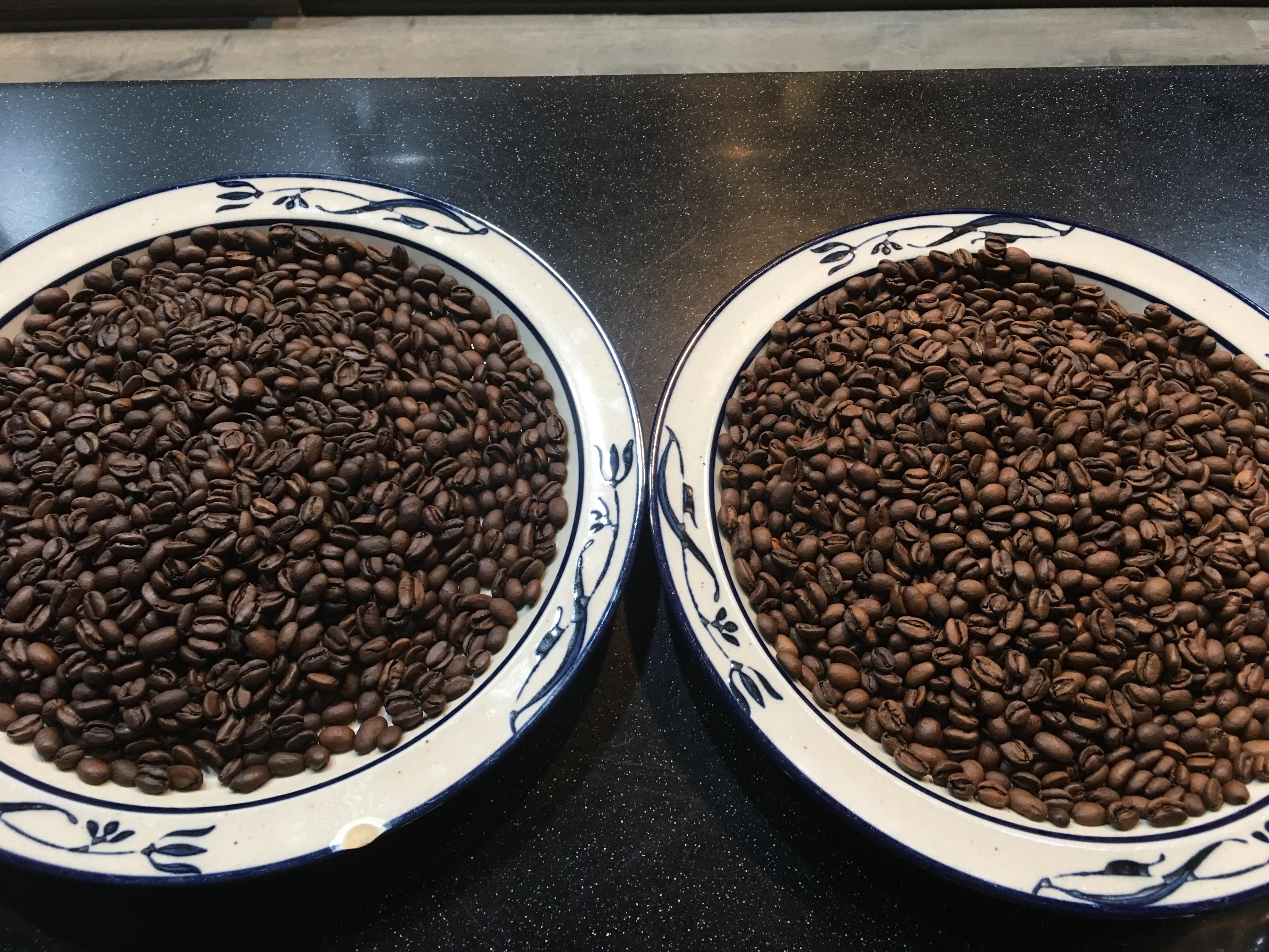 (右)第1鍋 果丁丁 (左)第2鍋 果丁丁