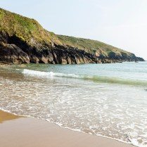 Goat Island beach, Ardmore, County Waterford, Ireland