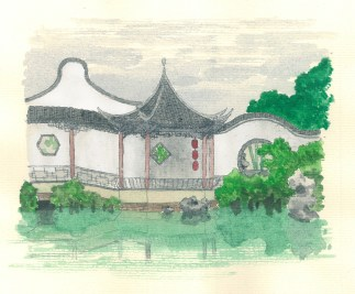 Lang-Cang Pavilion, Suzhou