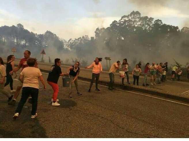 vivendas afectadas polo lume
