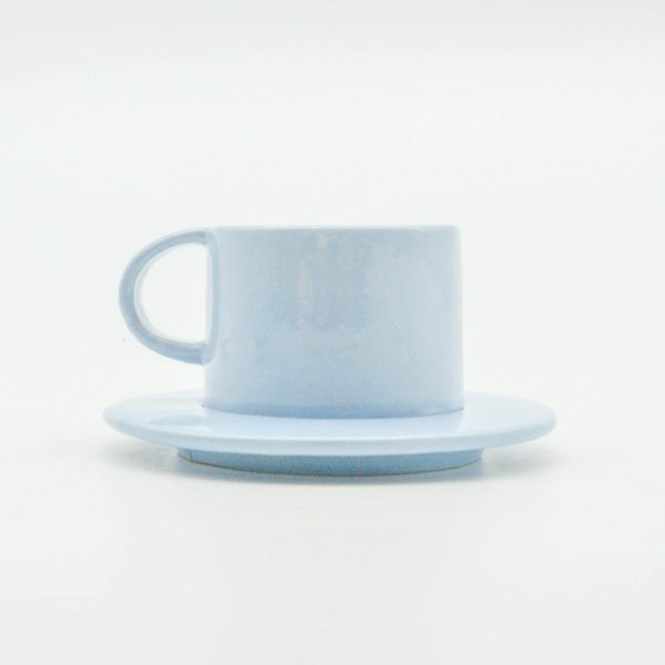 minh tien ceramic morning 04 set saucer handmade