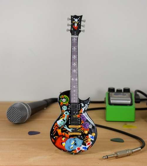 Metallica, James Hetfield - ESP Custom Culture