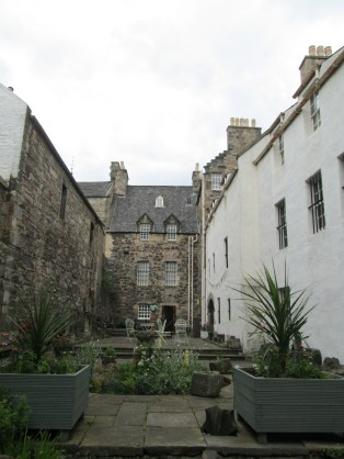 The Courtyard of the Edinbugh Museum