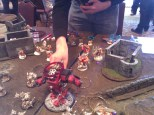 Spud played Plarzoid with his amazing looking Legion.