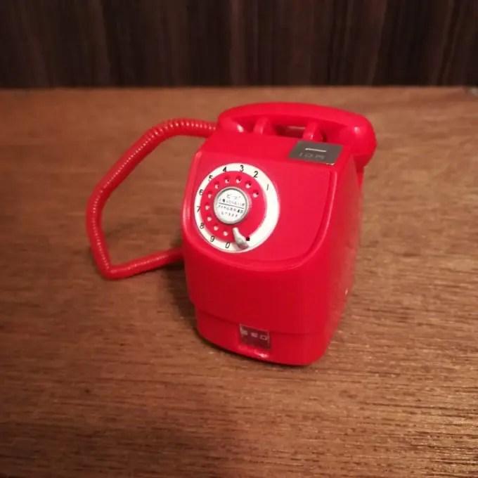 新型赤電話機