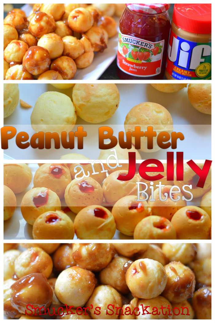 Peanut Butter And Jelly Bites