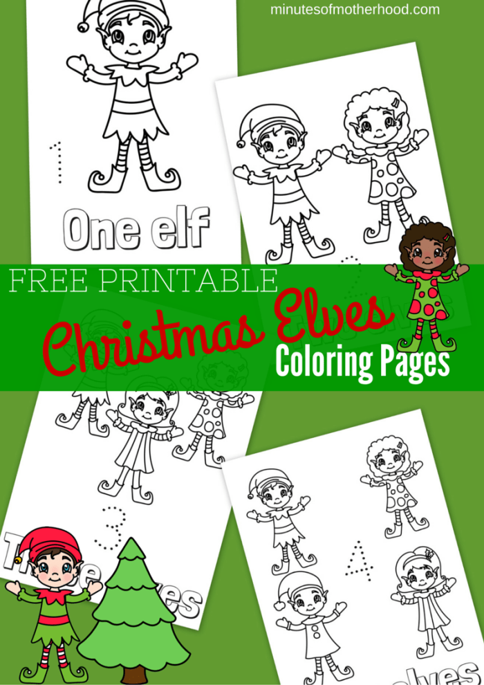 graphic regarding Printable Elves identify Totally free Printable Xmas Elves Coloring Internet pages ⋆ Miniature